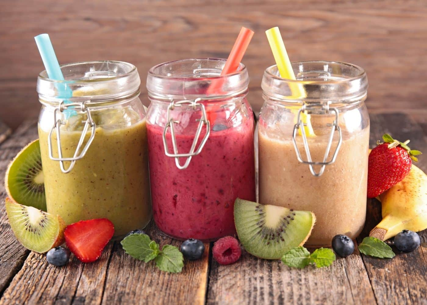 three-smoothies-ready-to-drink-out-of-jars